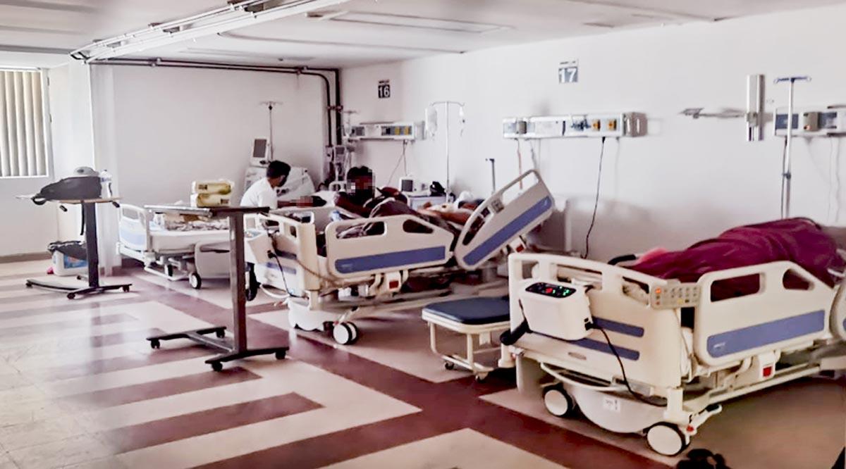 Desconvierten espacios del Hospital General de CSL