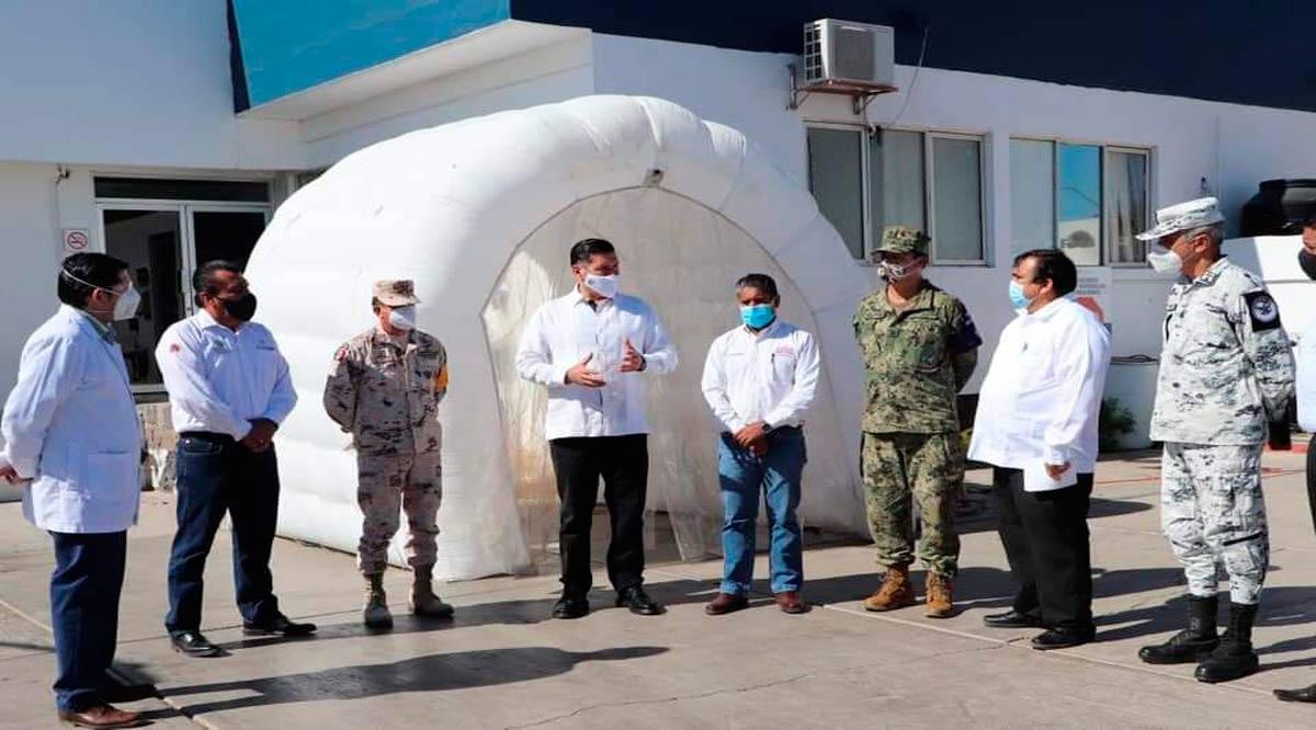 Supervisan desempeño del hospital de Santa Rosalía