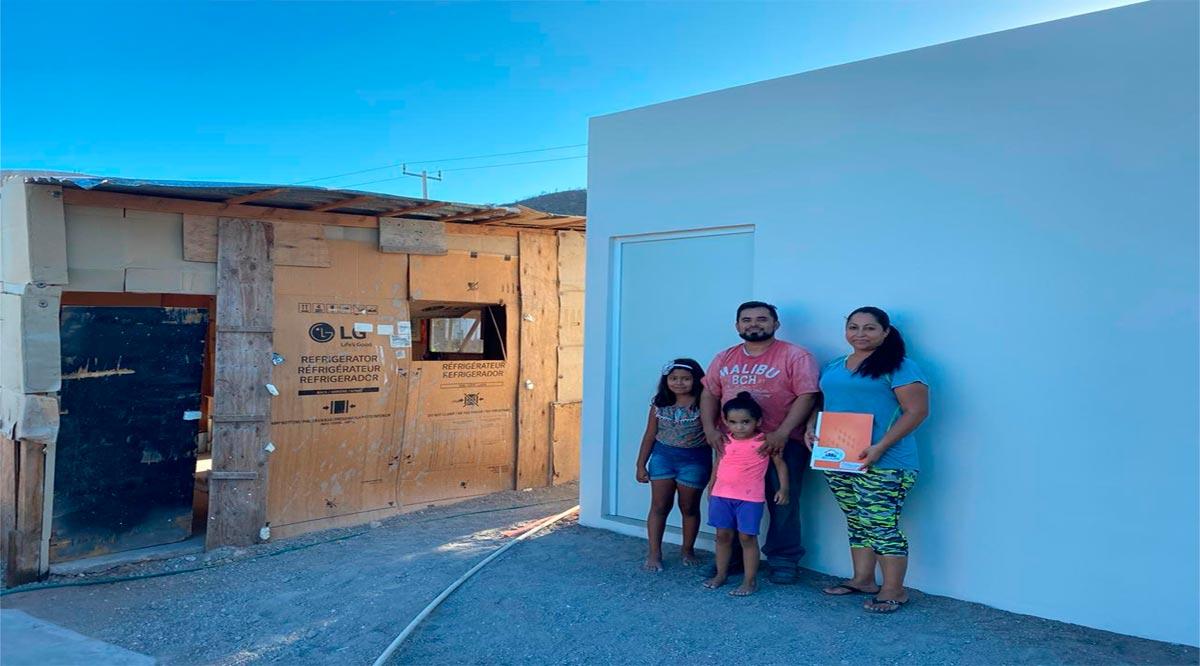 Más de 740 familias benefició INVI con sus diferentes programas de vivienda en Loreto
