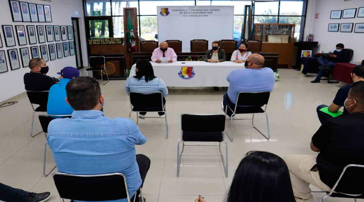 Politizan diputados de BCS el tema de los profesores de Tiempo Completo