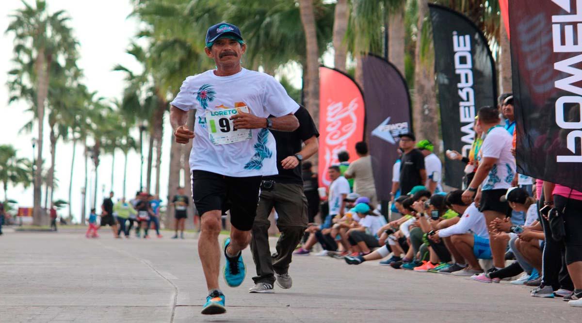 Se han inscrito 580 corredores para el Medio Maratón de Loreto
