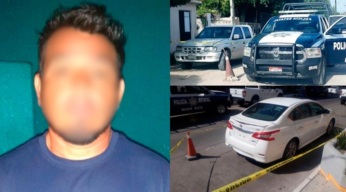Capturan a narcomenudista en Loreto y recuperaron 3 vehículos en La Paz