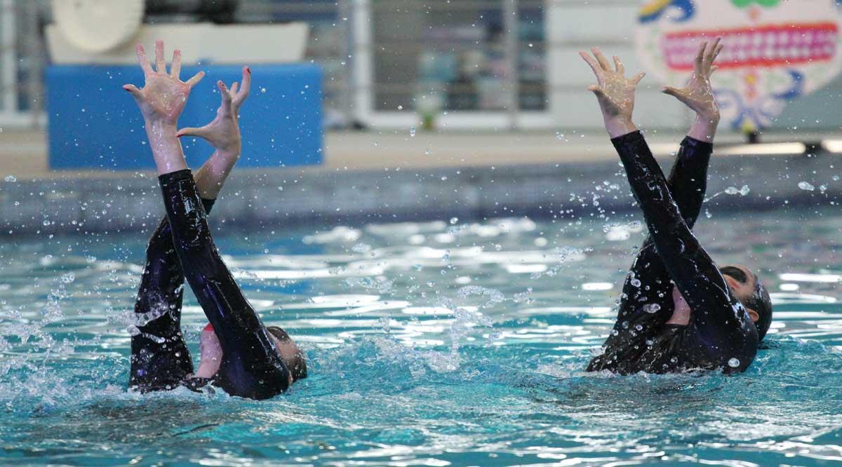Estará equipo de natación artística de BCS en Festival de Calaveras