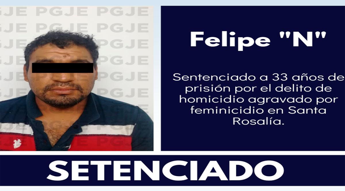 Dan prisión de 33 años a imputado por homicidio agravado por feminicidio cometido con ventaja en Mulegé