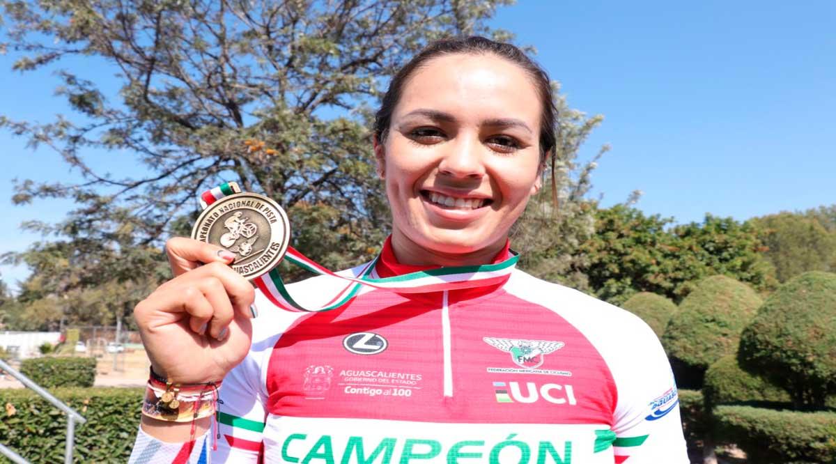 Suma BCS 6 medallas de oro en el Nacional de Pista