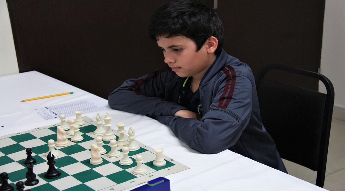 Se quedó Zuben Jorajuria con el cuarto lugar en clasificatorio de ajedrez
