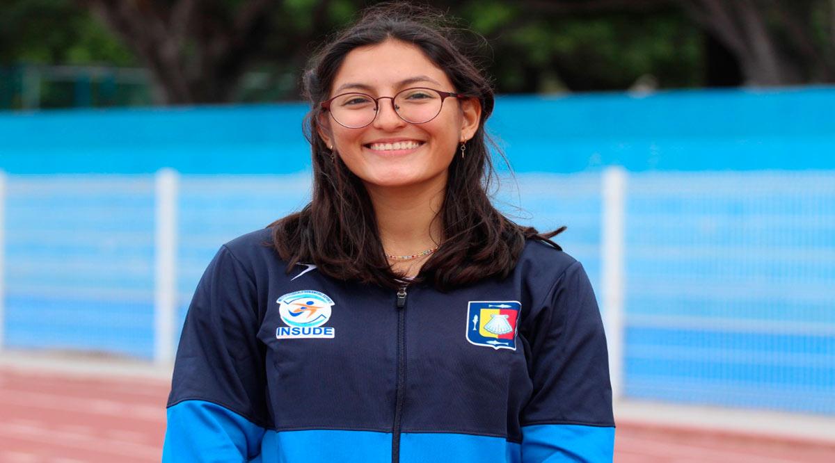 Buscará Ángela López nueva marca nacional en salto triple