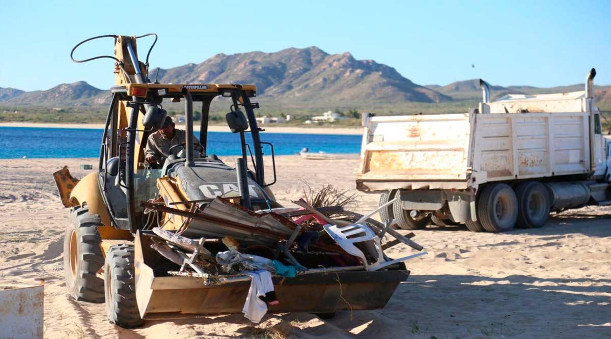 Trabajan en Los Cabos por la erradicación de tiraderos clandestinos de basura
