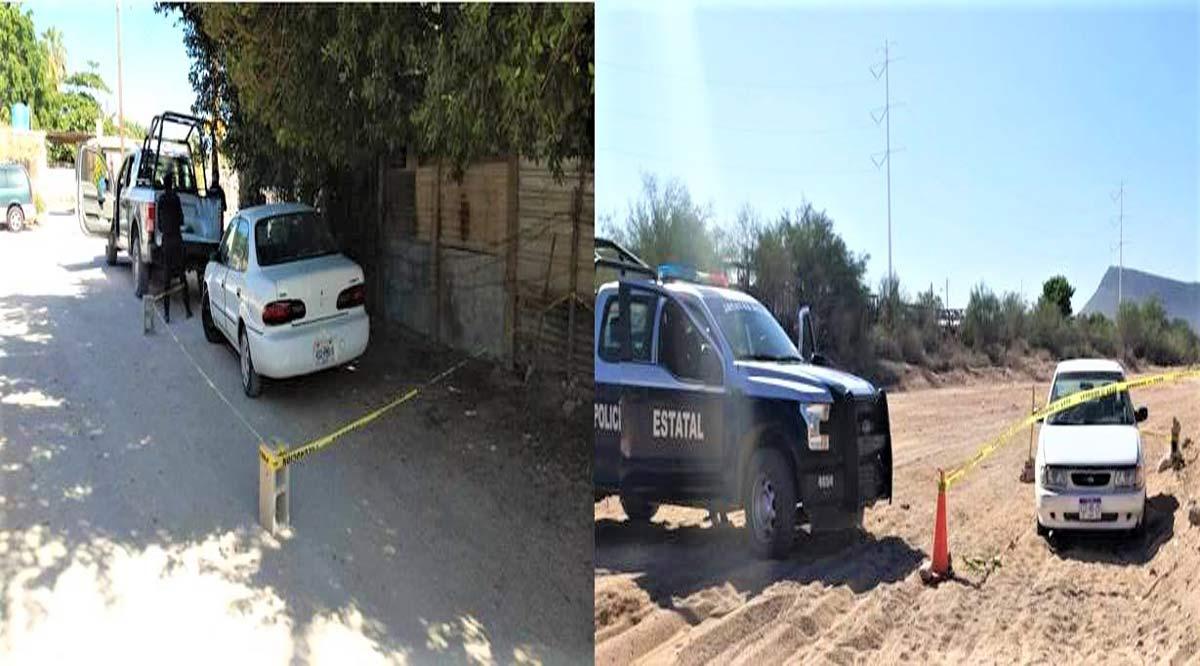 Localizan 2 vehículos con reporte de robo en La Paz