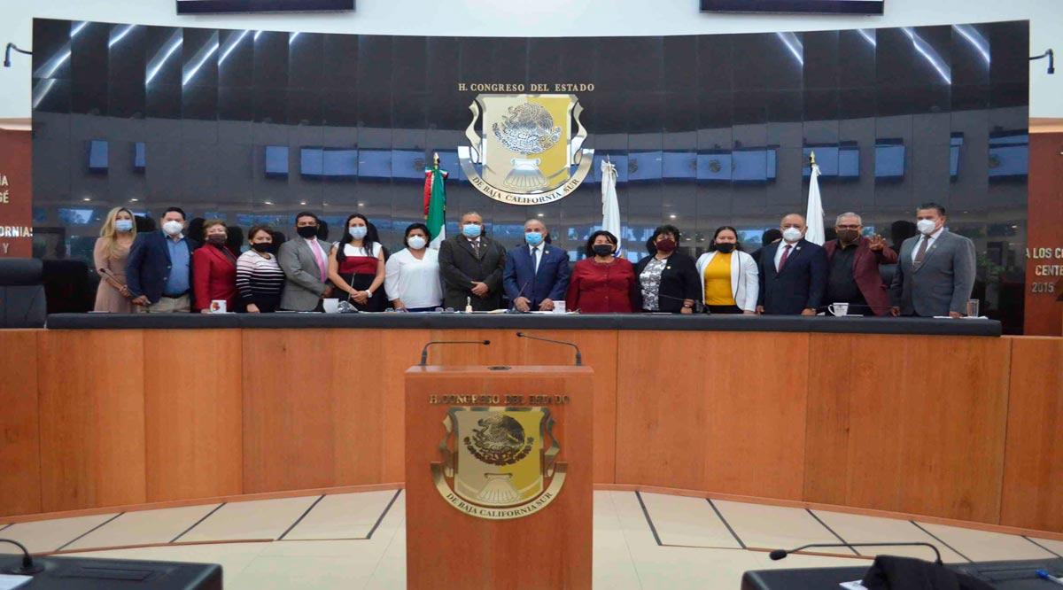 Clausura Congreso de BCS primer período de sesiones de tercer año de Legislatura