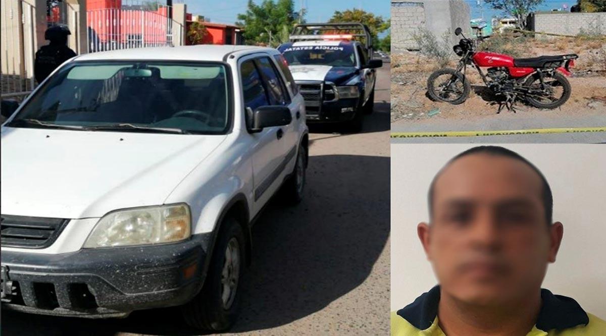 Detienen a prófugo de la justicia en Los Cabos y localizan 3 vehículos en La Paz