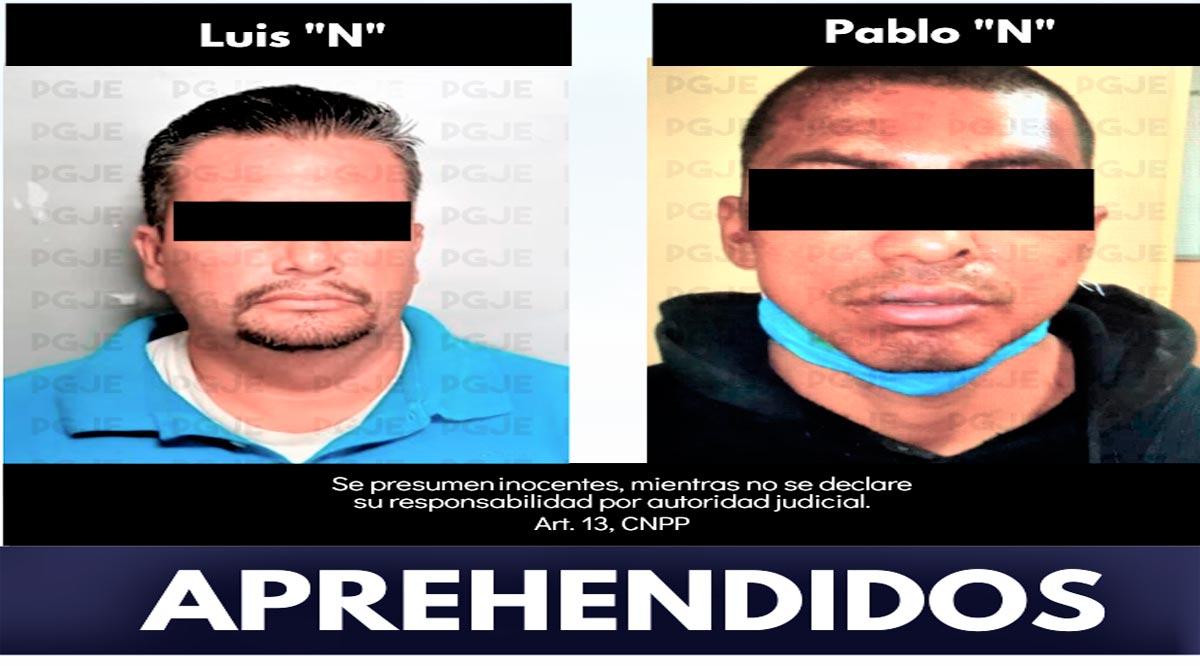 Aprehenden a 2 personas en La Paz por robo