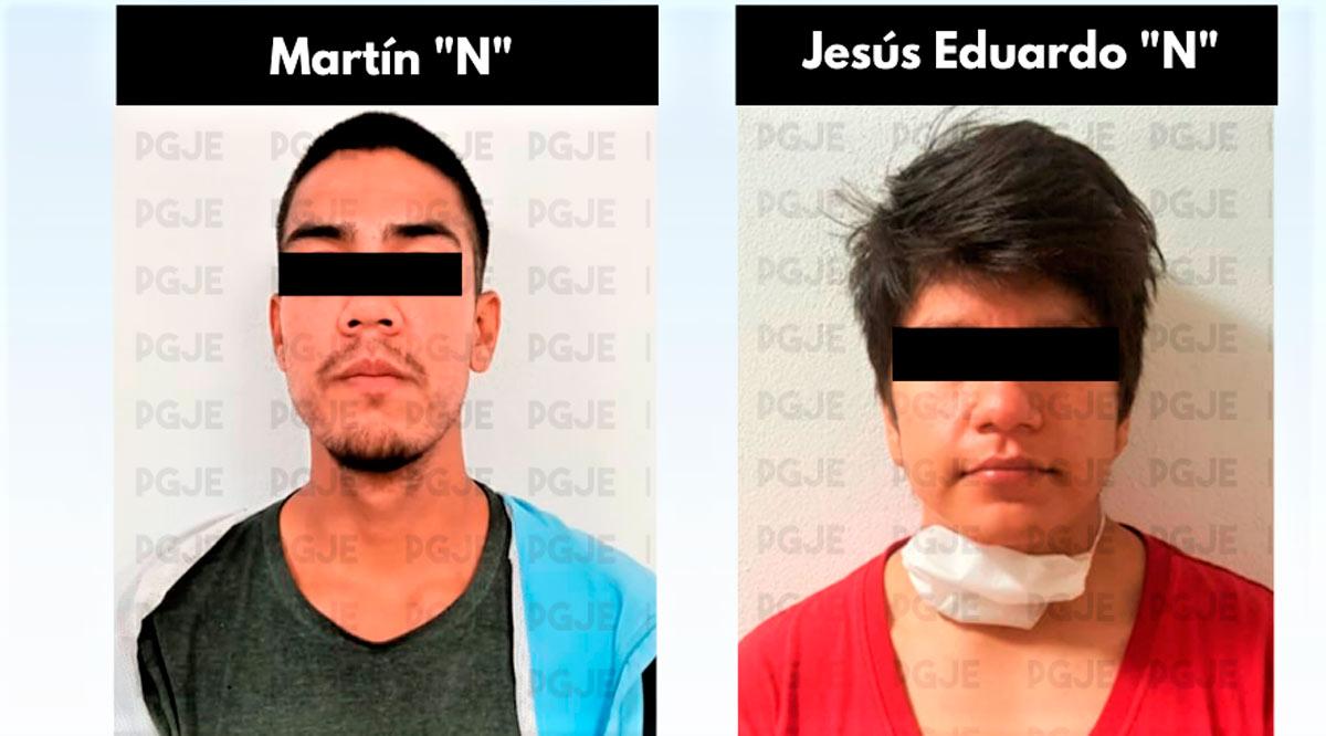 Prisión preventiva contra 2 sujetos que robaron vehículo con violencia en La Paz