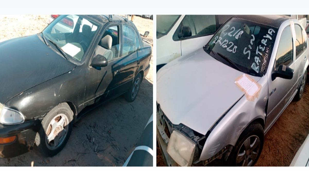 Localizan 2 vehículos con reporte de robo en BCS