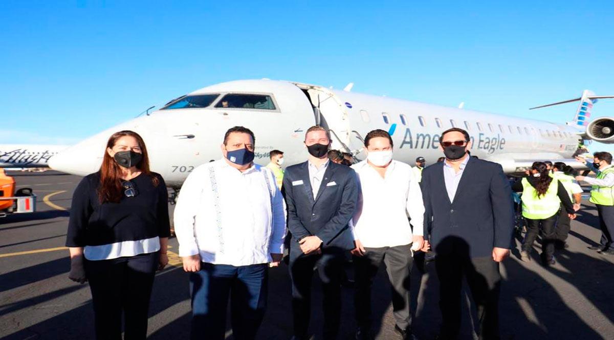 Vuelo inaugural Phoenix-Loreto; se extiende la ruta hasta abril