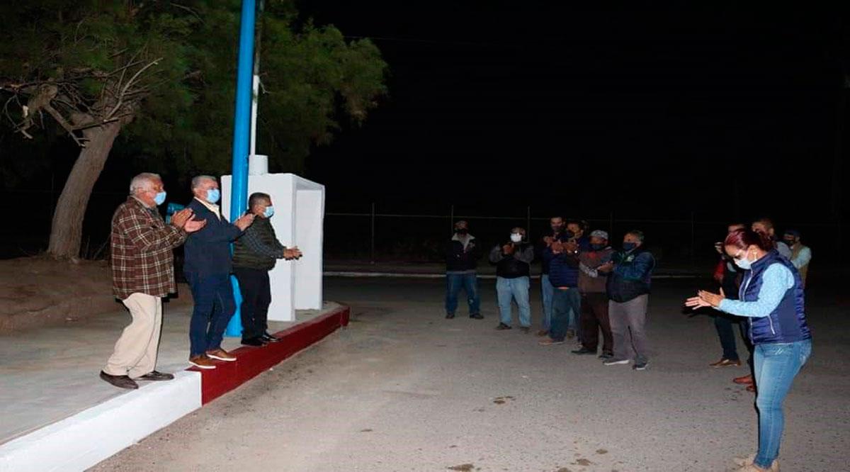 Mejoran luminarias en el parque de avistamiento de ballenas en López Mateos