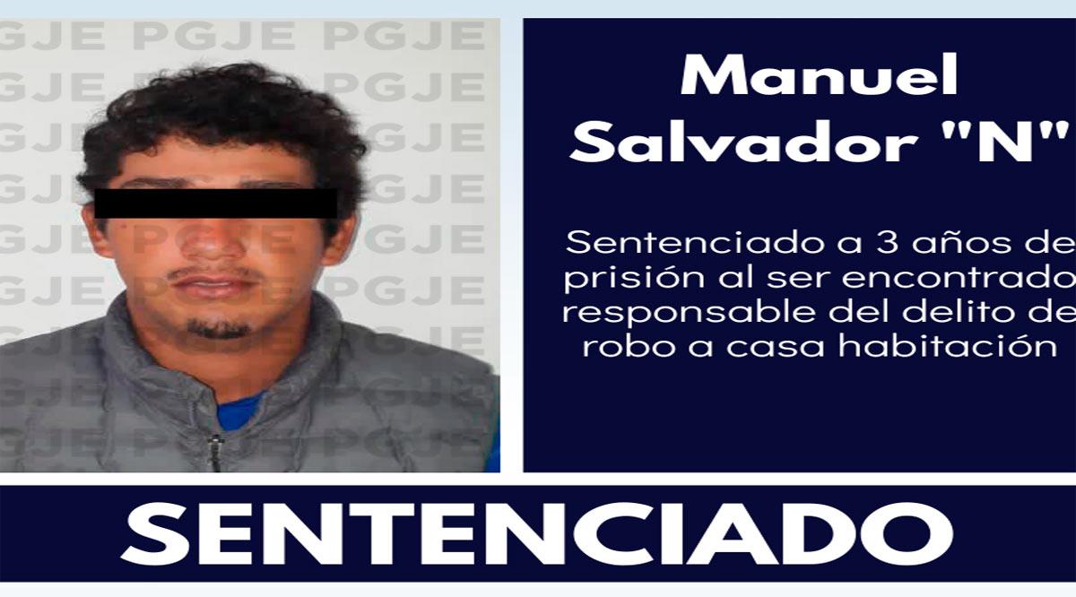 Condenan 3 años 4 meses a prisión a imputado por robo en Loreto