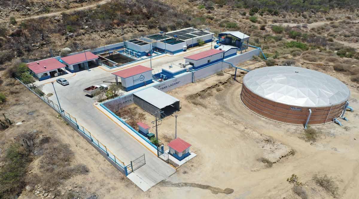 Atiende planta San Lázaro demanda de agua en colonias de San José del Cabo