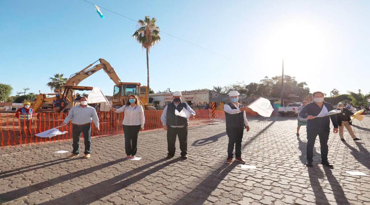 Arranca remodelación de la plaza Salvatierra en Loreto