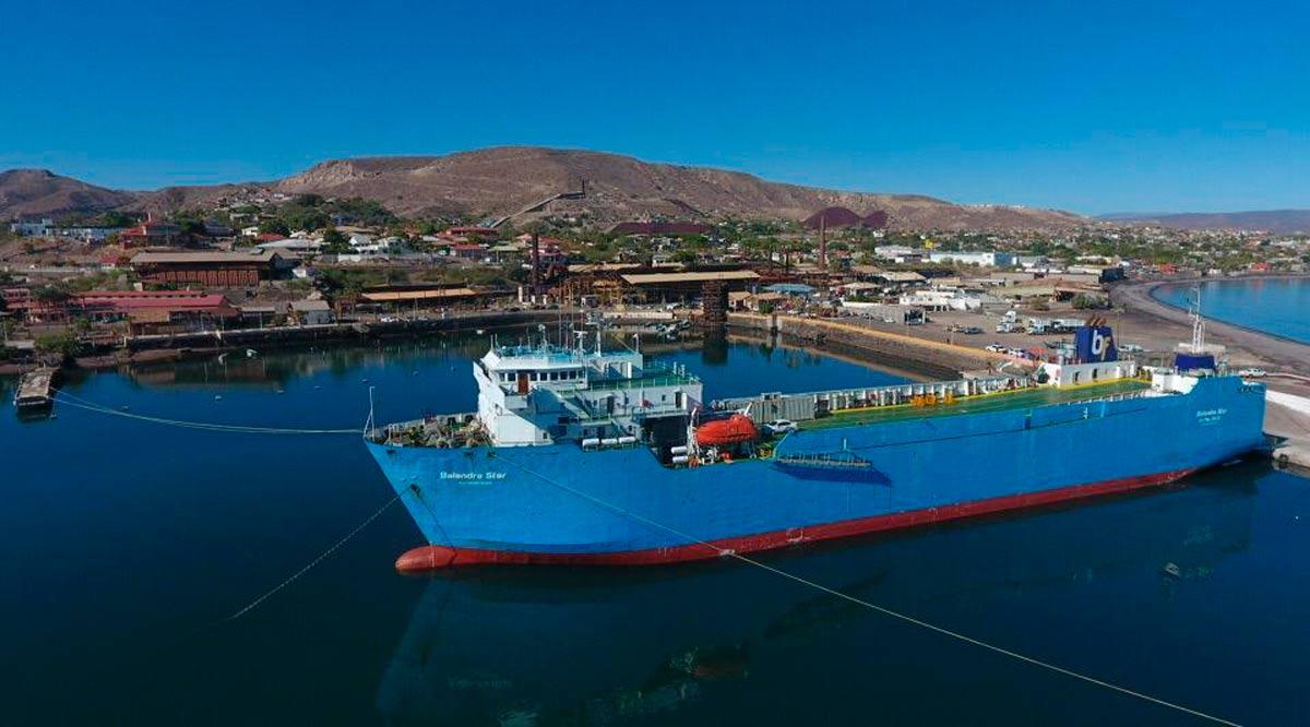 Conectan vía marítima a Santa Rosalía con Guaymas