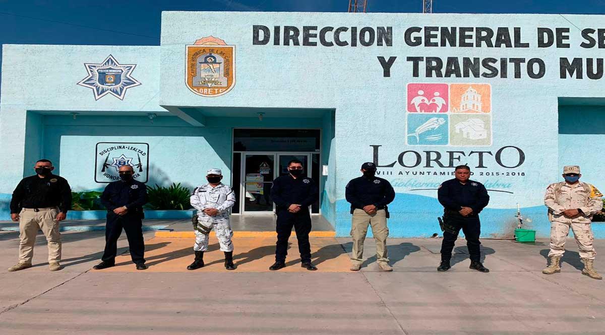 Convoca Seguridad Pública de Loreto a evitar festejos de fin de año con concentraciones masivas