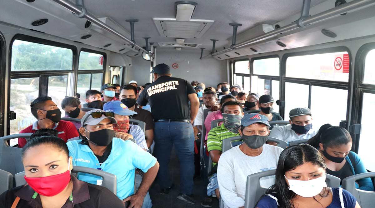 Efectúan operativos aleatorios en el transporte público de Los Cabos