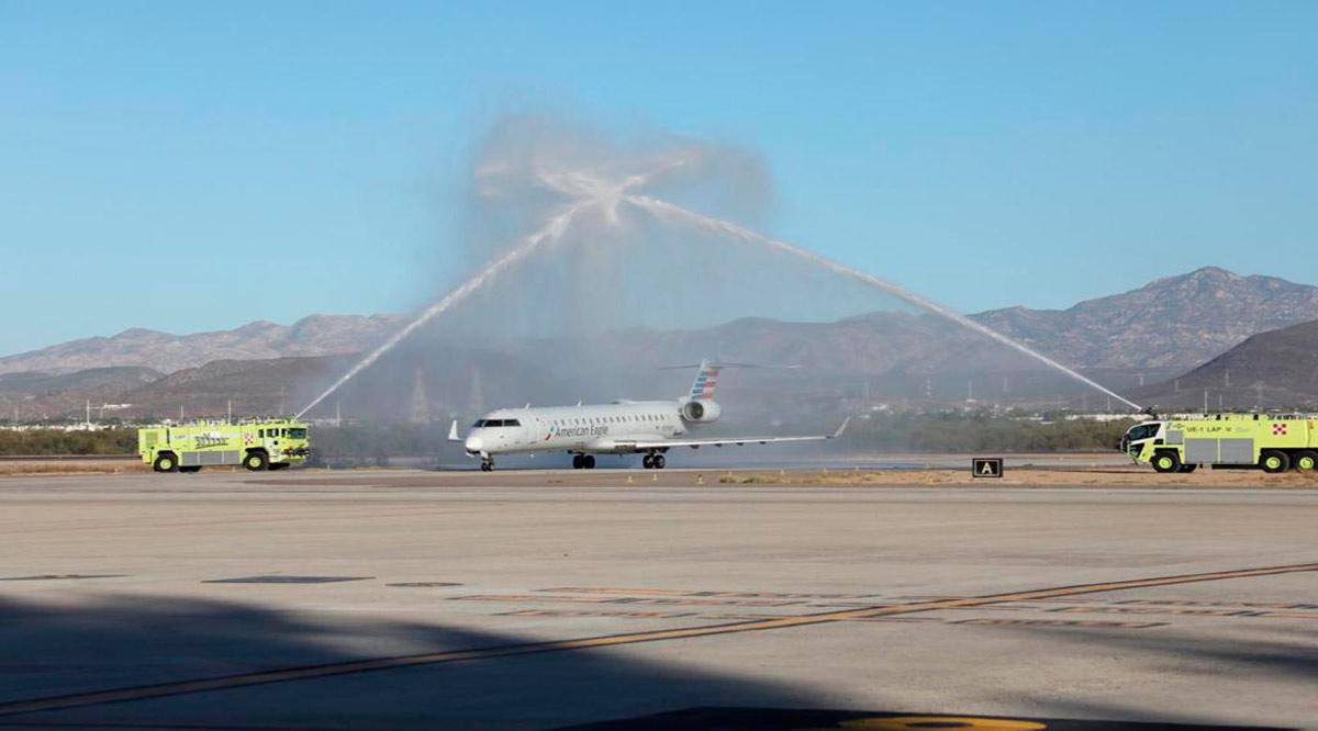 Recibe Los Cabos los vuelos inaugurales de Austin, Sacramento y Nueva York