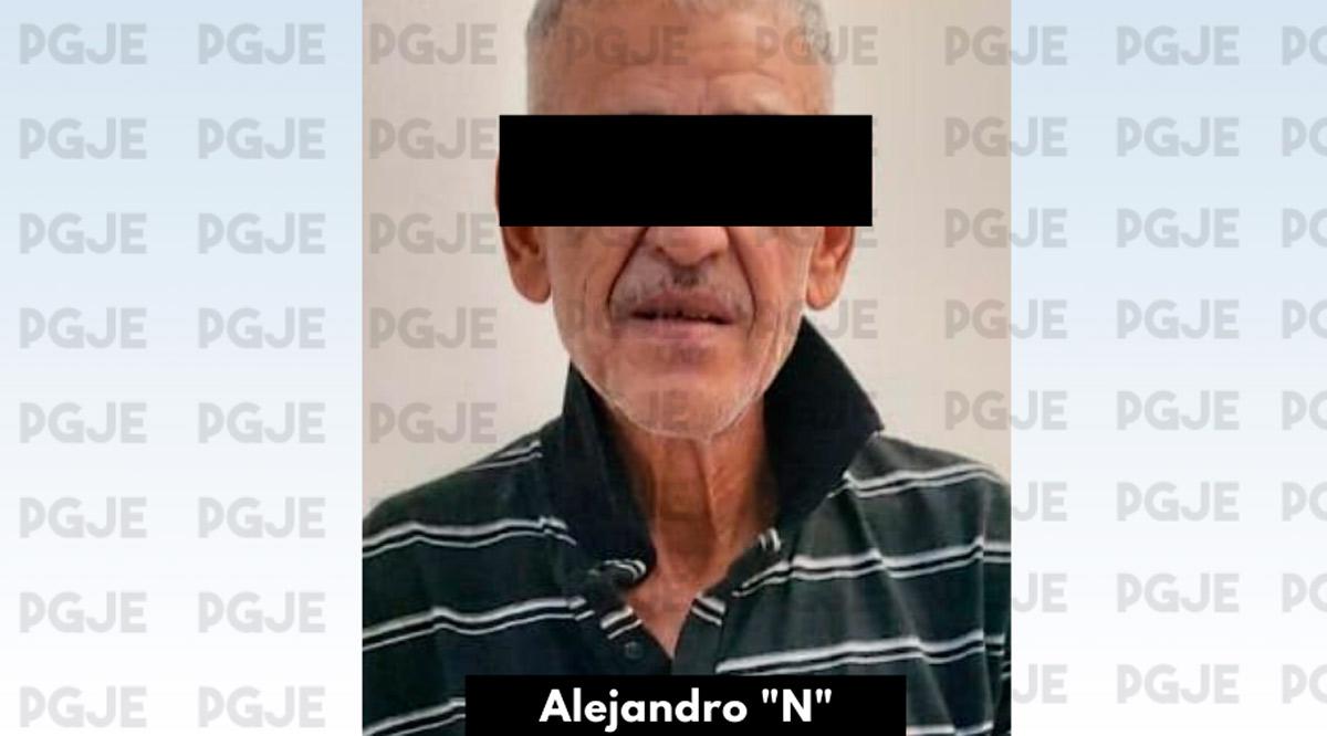 """Aseguran a Alejandro """"N"""" con cristal y marihuana en La Paz"""