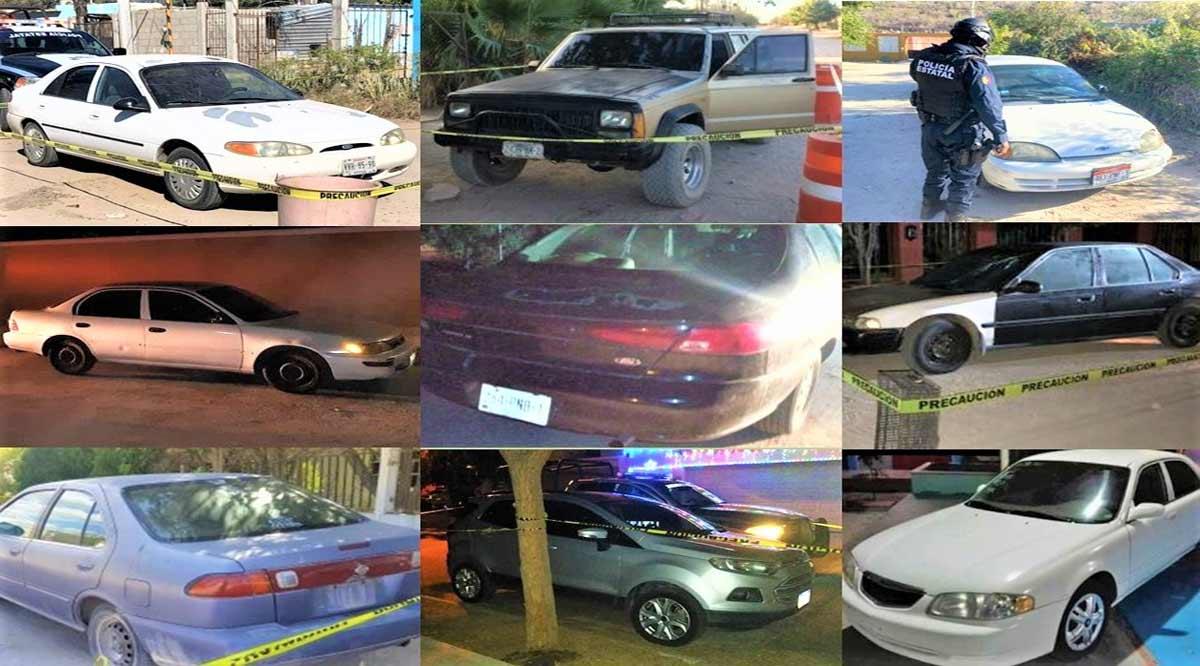 Localizan 9 vehículos en La Paz con reporte de robo