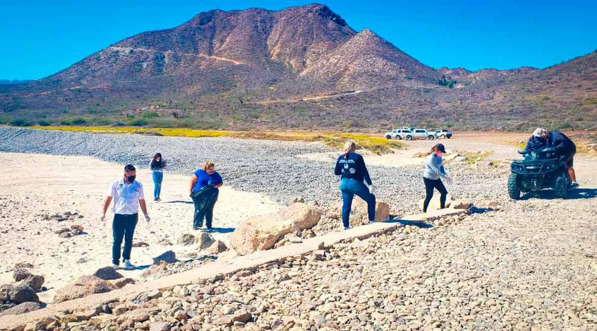 Levantan 450 kilos de basura del Parque Nacional Cabo Pulmo