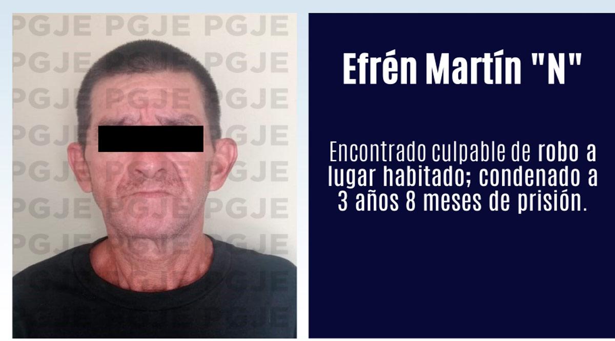 Sentenciado a 3 años 8 meses por robo en lugar habitado en Mulegé
