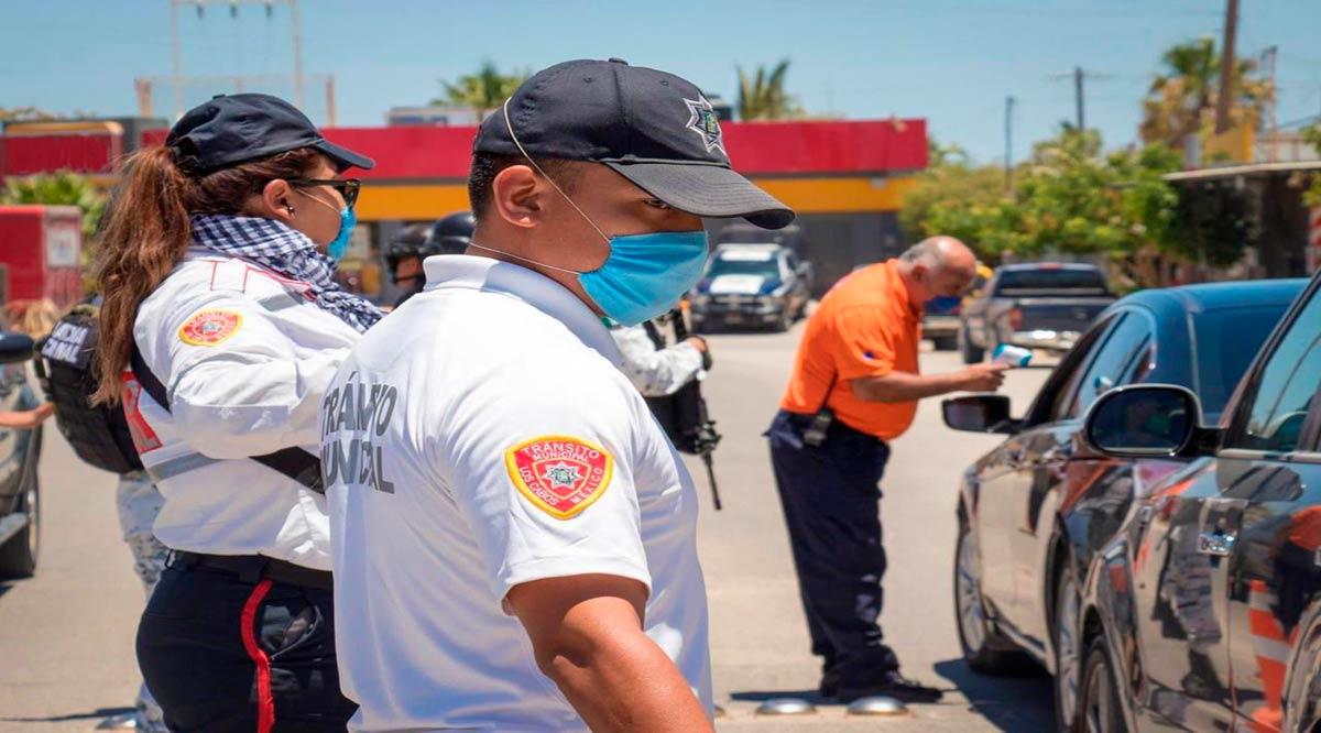 Instalan filtros Covid en Los Cabos