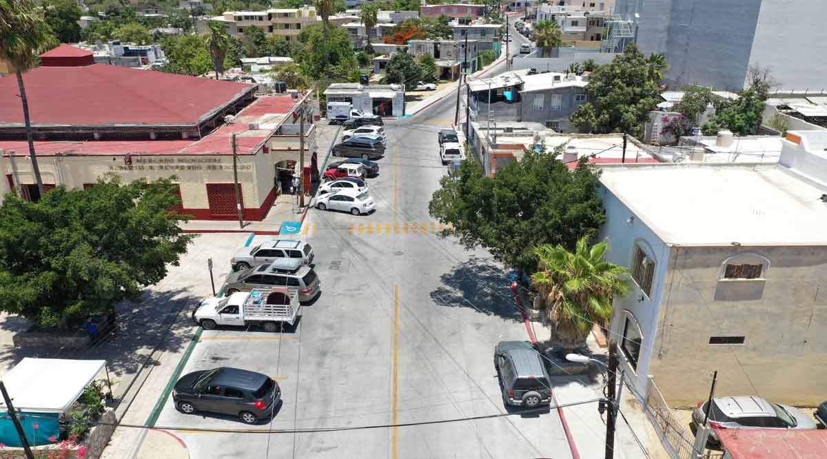 Entregan pavimentación de la calle Mauricio Castro en SJC