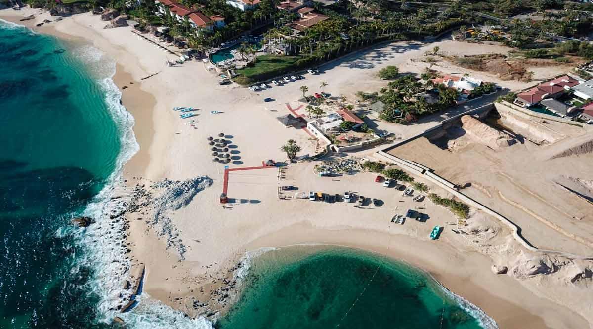 Sólo están abiertas 11 playas en Los Cabos