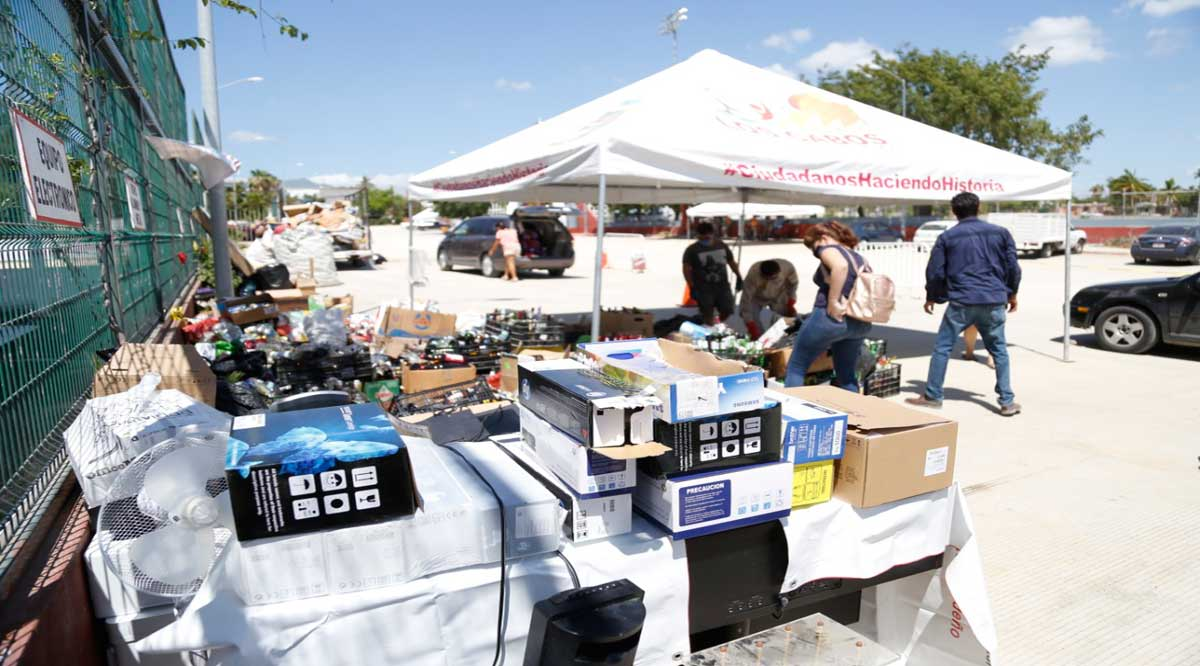 Más de 45 toneladas de materiales reciclables ha logrado acopiar el gobierno de Los Cabos