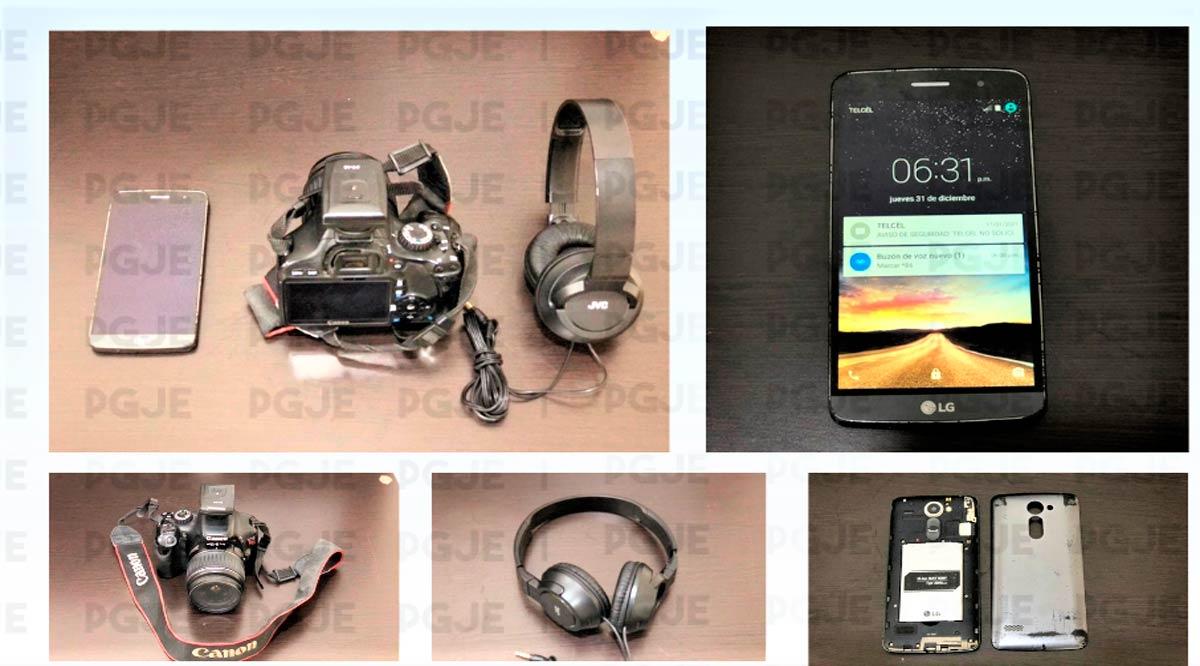 Recuperan objetos robados de un Estudio de Fotografía en Loreto
