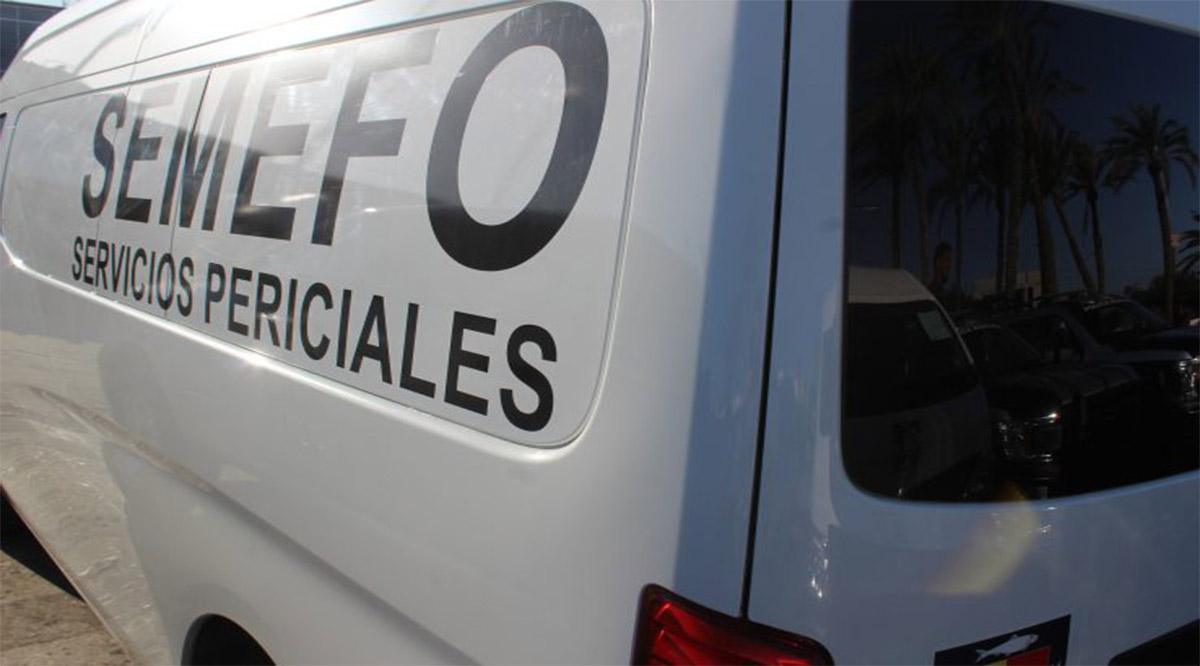 Una persona sin vida en Guerrero Negro