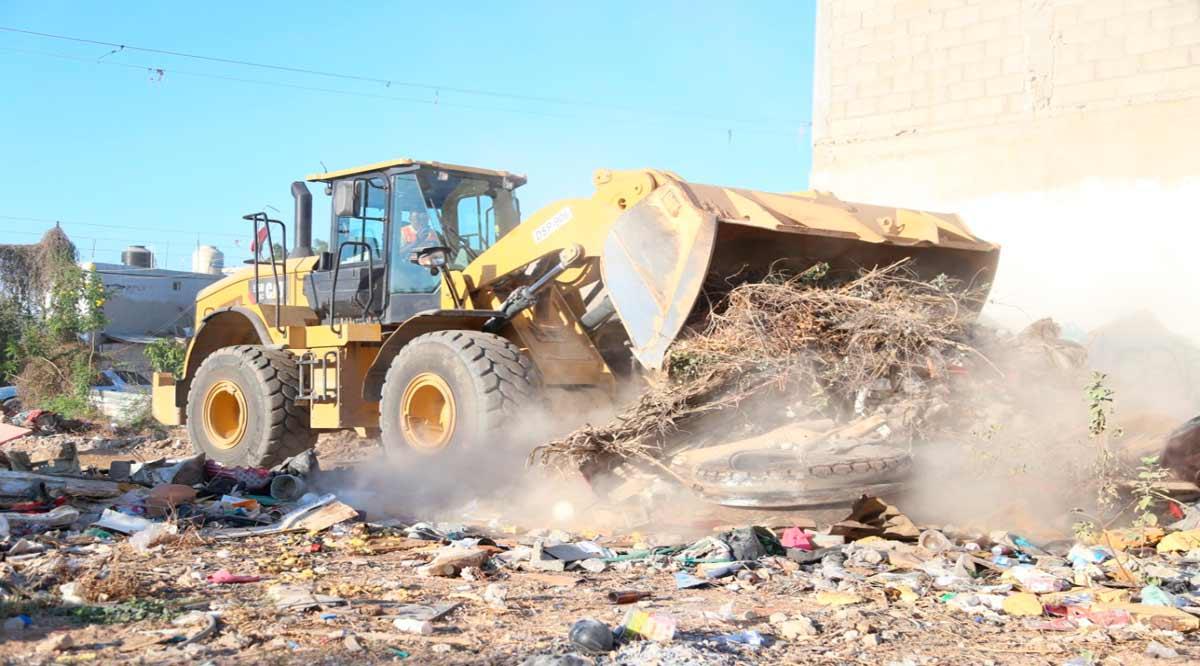 Anuncian que erradicarán tiraderos de basura clandestinos en Los Cabos