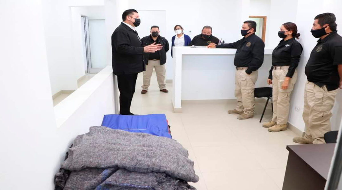 Entregan artículos básicos para el área de atención a detenidos en el Centro de Justicia Penal de SJC