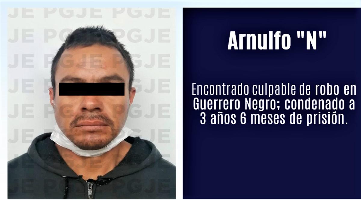 Sentenciado a 3 años 6 meses por robo a vivienda en Mulegé