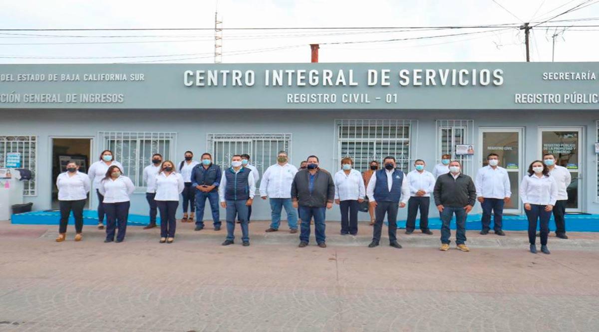 Entregó el Gobernador de BCS el nuevo Centro Integral de Servicios en Loreto