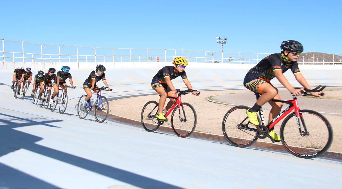 Definirán selección de ciclismo de BCS para fecha nacional de pista