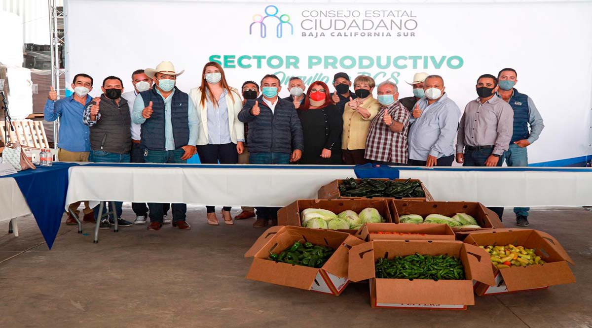 Es orgullo de BCS el sector productivo sudcaliforniano: Consejo Estatal Ciudadano