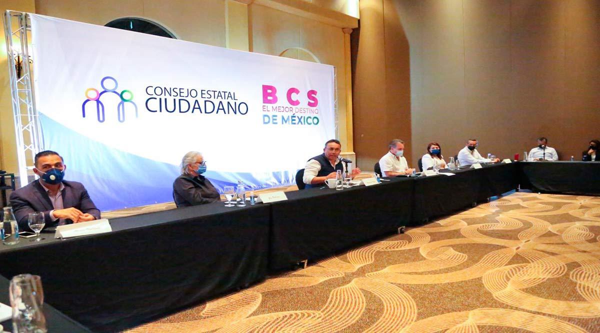 Se harán propuestas para que BCS siga siendo el mejor destino de México: Consejo Estatal Ciudadano