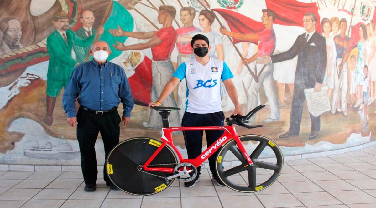 Retomó los entrenamientos Emiliano Estrada para regresar a la selección nacional de ciclismo