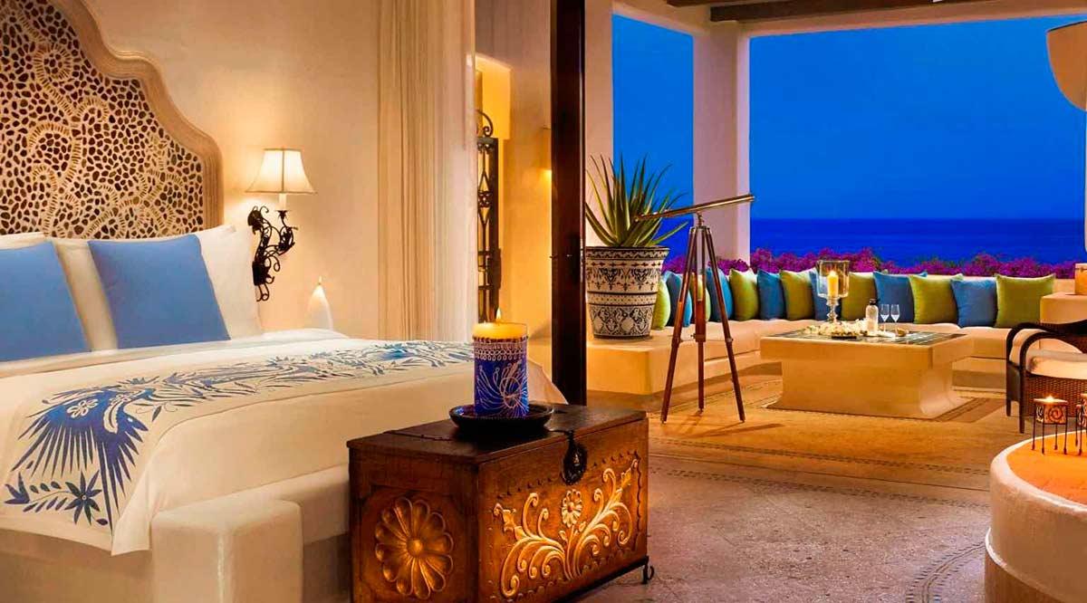 Se ubican en Los Cabos 6 de los 12 hoteles más lujosos en México