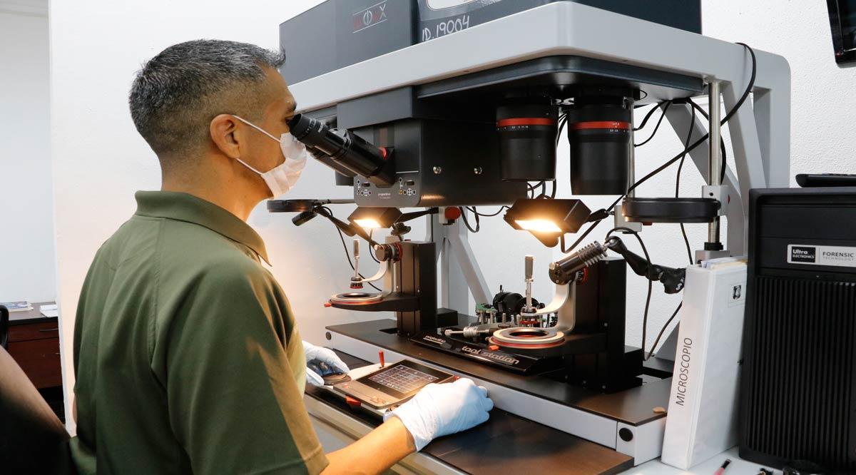 Tienen 6 laboratorios forenses de BCS acreditación internacional