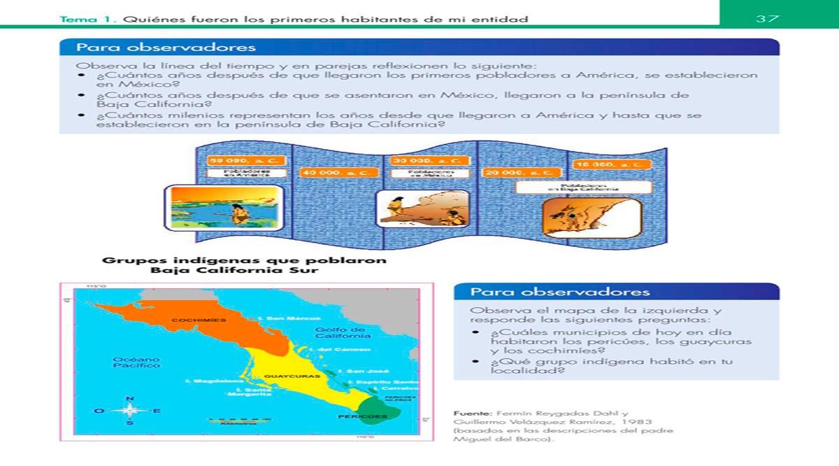"""Presentan libro """"Entidad donde vivo: Baja California Sur"""""""