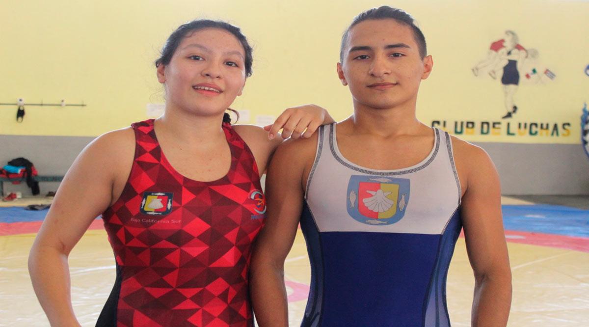 Participarán hermanos Estrada en el clasificatorio de luchas asociadas