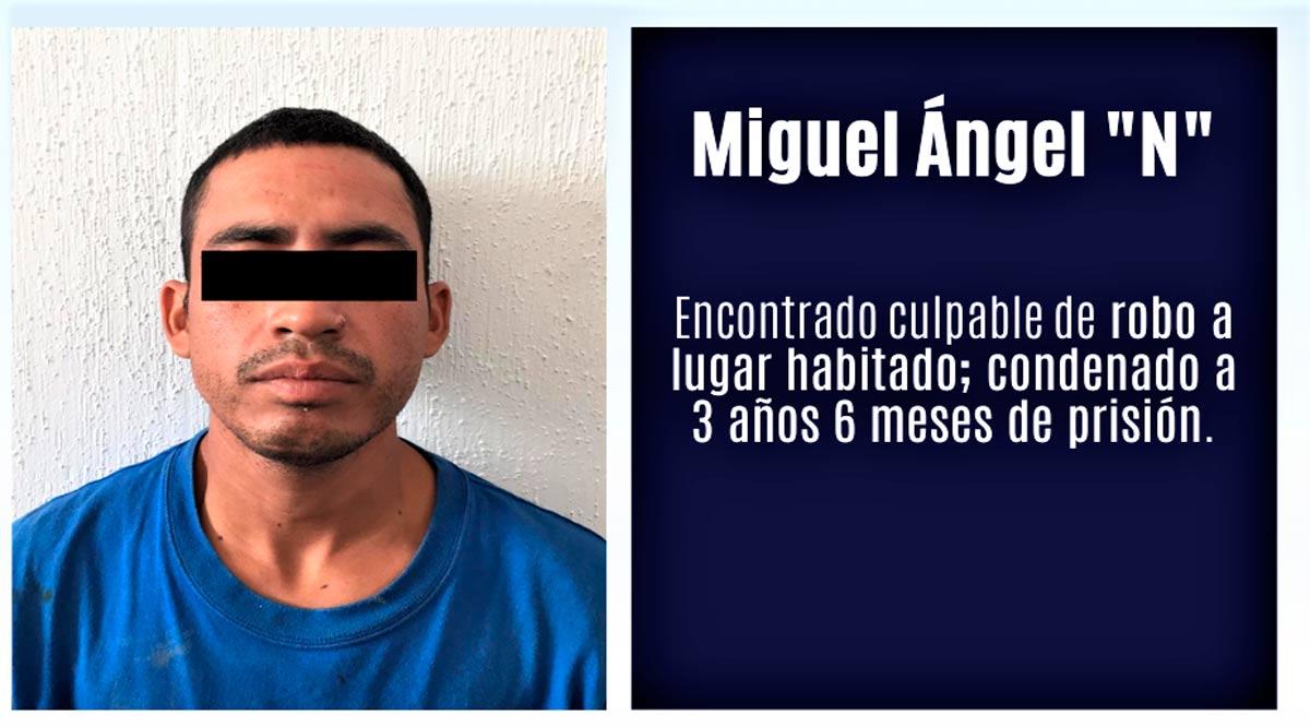 """Sentencian a """"El Miguelito"""" a 3 años 6 meses de prisión por robo en Los Cabos"""